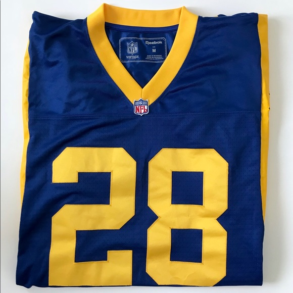 separation shoes f0764 f2633 NFL Throwbacks St. Louis Rams Faulk Jersey